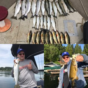 Lake sammamish Fishing guide